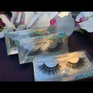 (Dream girl). Natural 3D mink eyelashes